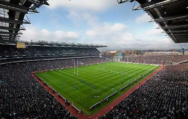 The heart of the GAA, Croke Park, Dublin.