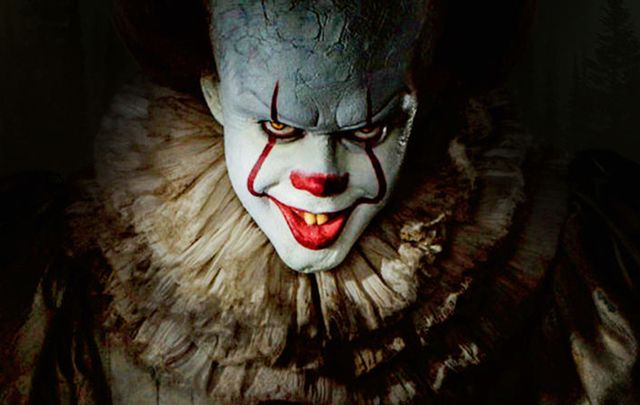 "Promo poster for Stephen King\'s ""It\"", 2017."