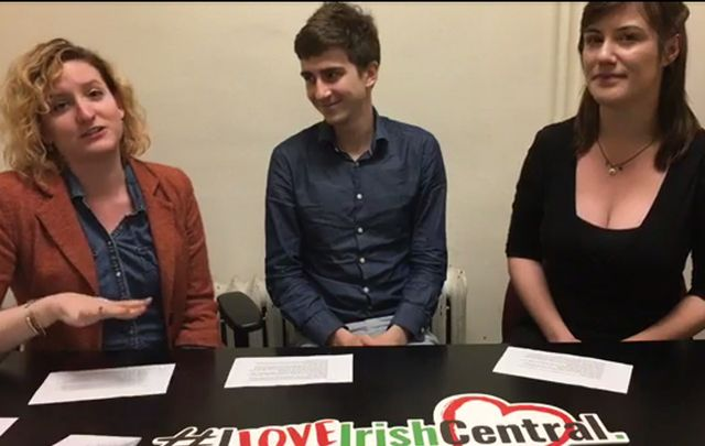 Sheila Langan, James Wilson and Fran Mulraney find out their Ancestry DNA results.