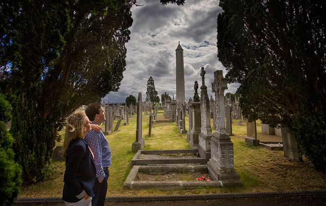 Glasnevin Cemetery, Dublin - just one of the many places you can discover your ancestors in Ireland.