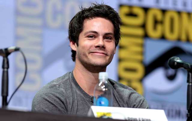 """American actor of Irish descent and star of """"Teen Wolf,"""" """"The Maze Runner"""", and """"American Assassin"""", Dylan O'Brien."""