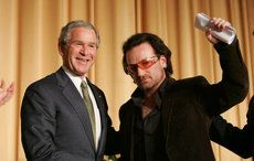 U2's Bono to be honored with inaugural George W. Bush Medal of Distinguished Leadership