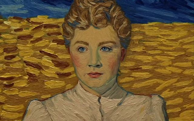 Saoirse Ronan As The Mysterious Marguerite Gachet In Loving Vincent.