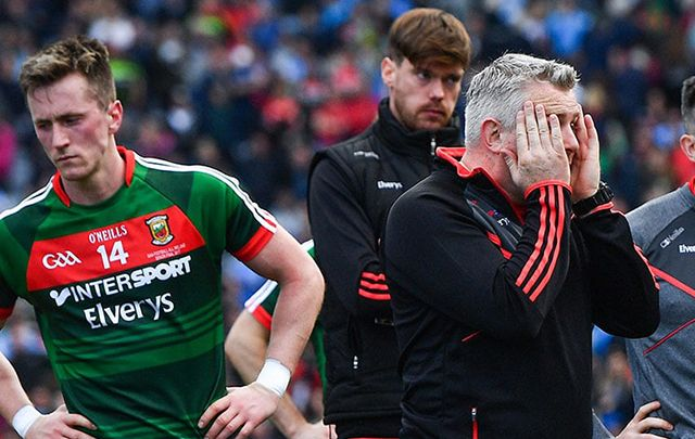 Poor Mayo: Dublin win their third All-Ireland GAA title in a row.
