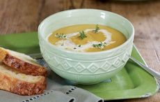 Root vegetable and squash soup with cheese soda bread recipes