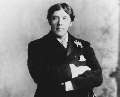 The brilliant Irish literary figure Oscar Wilde.