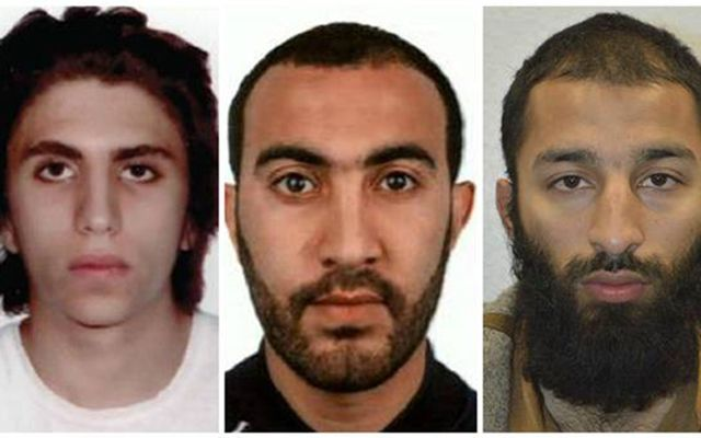 London Bridge attackers Youssef Zaghba, Rachid Redouane and Khuram Shazad Butt