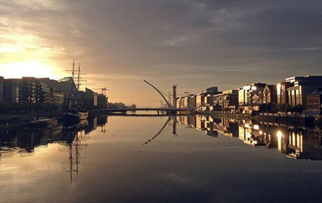 A view of Dublin city, along the River Liffey, home to Google, Yahoo, Facebook, Twitter and much more.