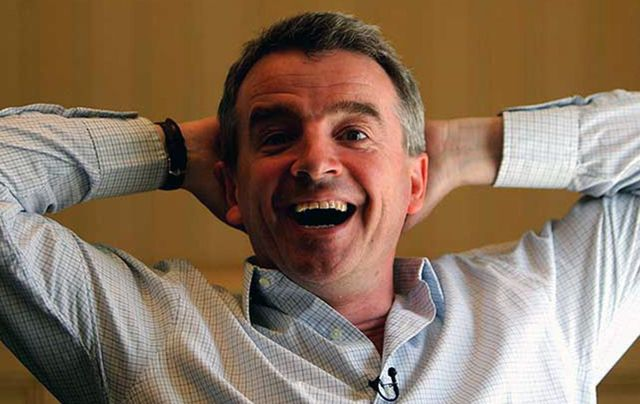 Ryanair boss Michael O\'Leary.