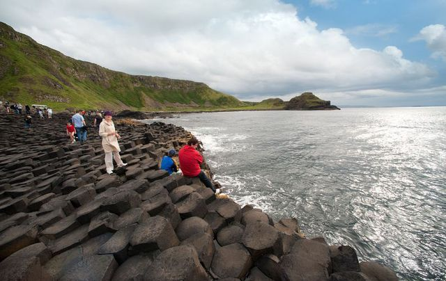 The Giant's Causeway, County Antrim, just spectacular during the winter months.
