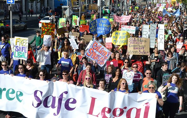Thousands attended 2016's March for Choice.