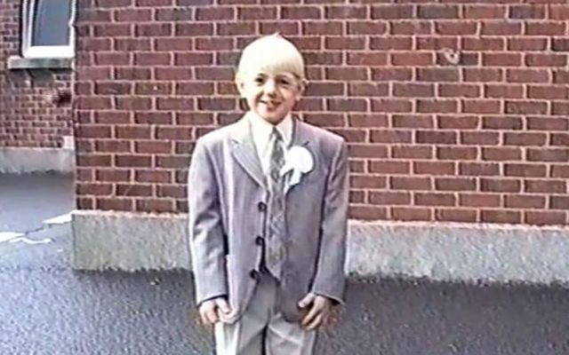 Wee Conor McGregor looking sharp.