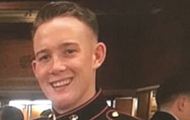 Marine Brendan Kelly is being hailed as a hero for his actions during the Las Vegas mass shooting.