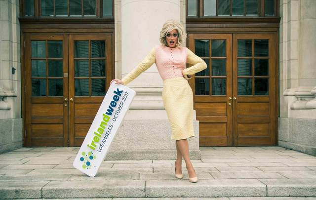 Panti Bliss is one of the big names that will feature at IrelandWeek in LA later this month.