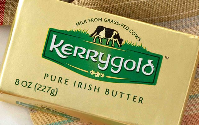 A package of Kerrygold Pure Irish Butter..