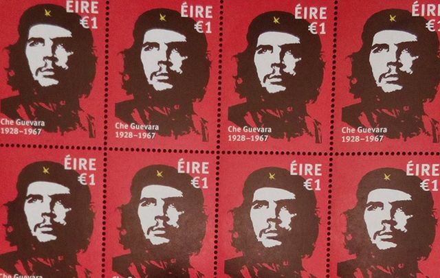 The new Irish Che Guevara postal stamp.