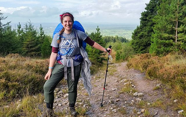 Maysen Forbes, from Canada, is on a personal journey through Ireland to raise fund for Mental Health Ireland.