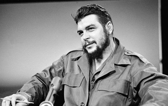 Cuban revolutionary Che Guevara.