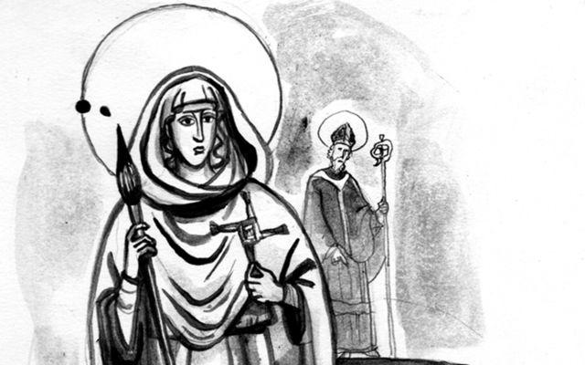 St Brigid v St Patrick.