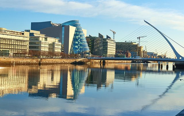 Dublin is booming for business.