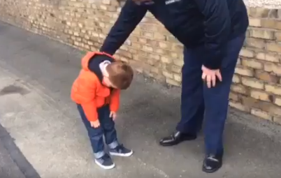 Seán Gavagan was just overcome after not having seen his Dad for so long.
