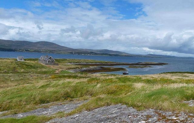 Look at all the space, peace, and quiet you\'d have on Carbery Island!