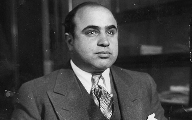 Immigrants like they used to be! Al Capone, Italian was married to Mae Coughlin, from Ireland.