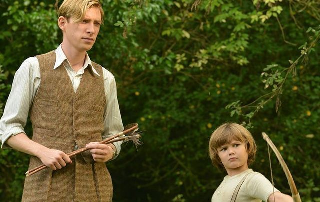Domhnall Gleeson star of Goodbye Christopher Robin.