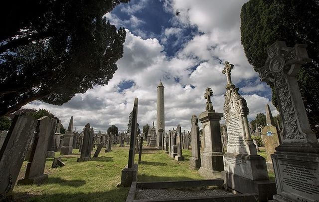 Glasnevin Cemetry, the final resting place of over 1 million Dubliners.