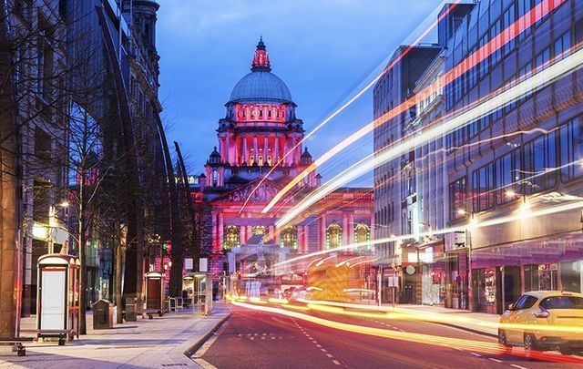Belfast - a city compact in size but huge in imagination.