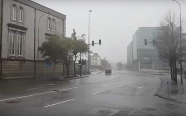 Storm Brian brings high winds and heavy rains to Ireland.