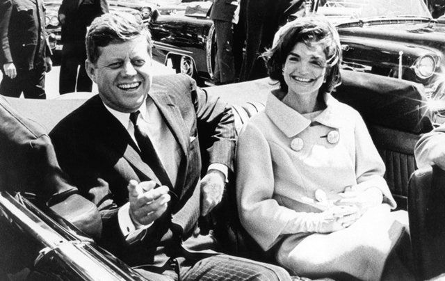 President John F. Kennedy and his wife Jackie on the day of his assassination. Will the complete set of files relating to this day ever be released?