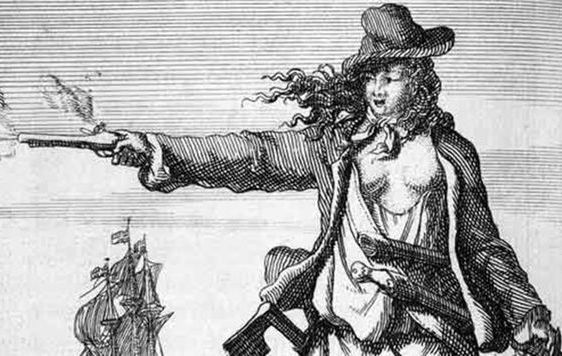 Anne Bonny was one of the most frightening and fearsome figures from Irish history - learn more about her at EPIC, the Irish emigration museum in Dublin.