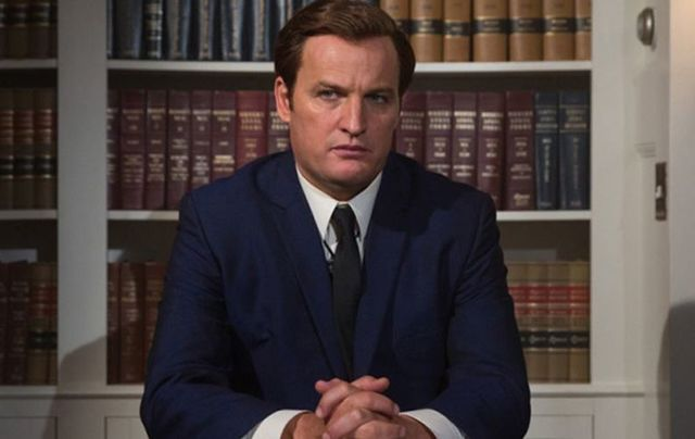 Jason Clarke as Ted Kennedy in the Chappaquiddick movie to be released in 2018.