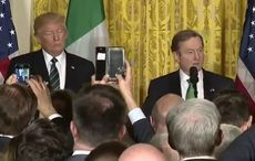 Enda Kenny's Washington St. Patrick's Day speech launches lucrative new career