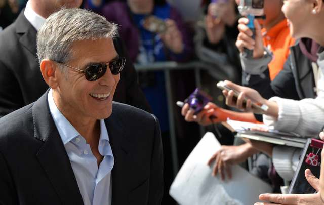 George Clooney has donated $1 million to his own initiative to continue their work fighting against corruption and war crimes.