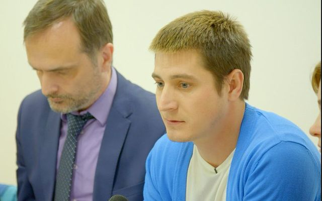 """Maxim Lapunov spoke out about Chechnya's """"gay concentration camps."""""""