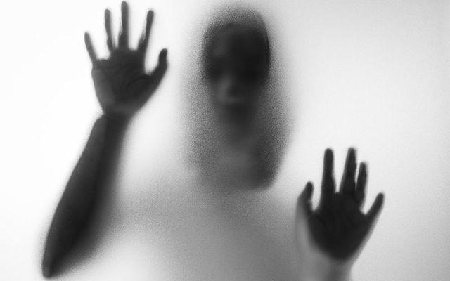 ghostly figure istock