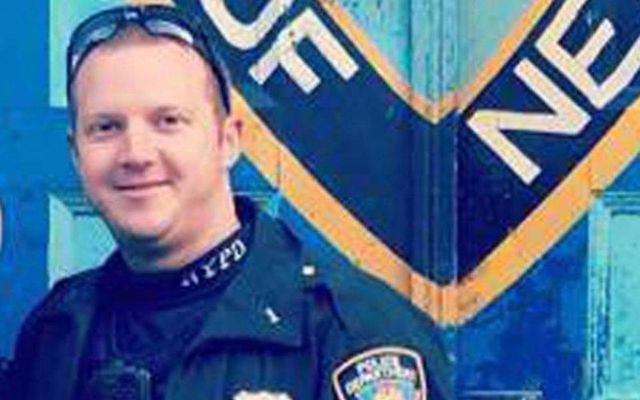 Hero Irish American NYPD cop Ryan Nash.