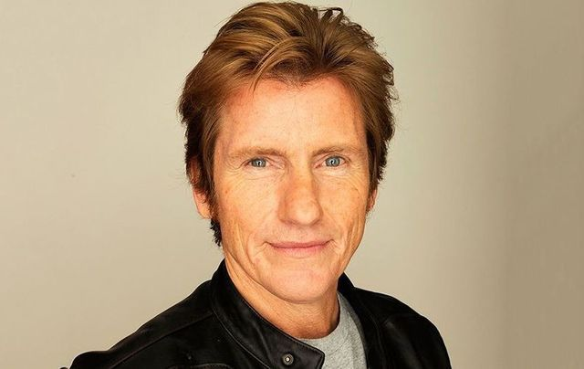 Irish American comedian and actor Denis Leary.
