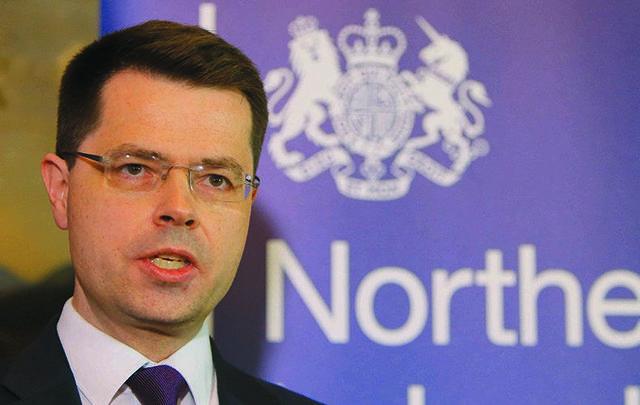 Northern Ireland Secretary of State James Brokenshire.