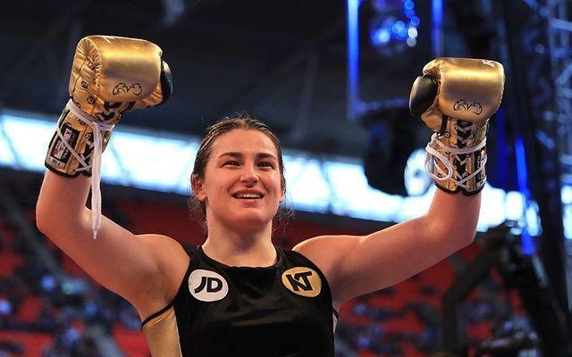 Irish boxing champion Katie Taylor.