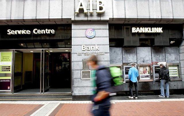 Allied Irish Bank, on Grafton Street, Dublin.