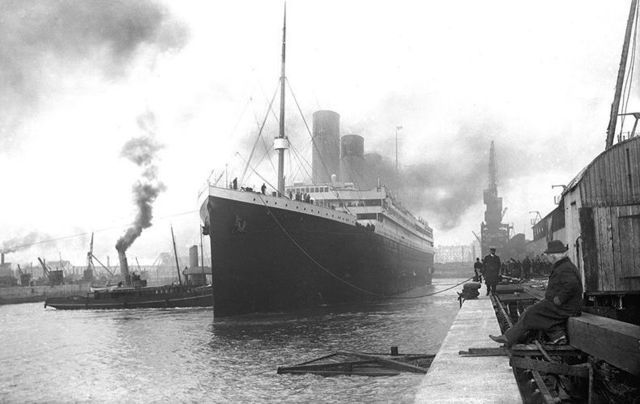 The Titanic in Southampton