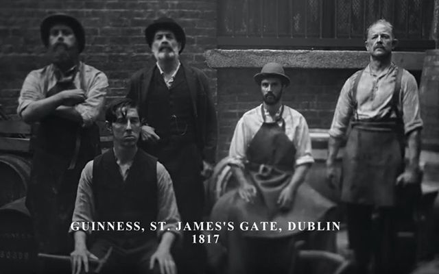 St. James\' Gate in 1817 - Celebrating the 200th anniversary of Guinness in America.