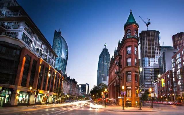 Downtown Toronto, Canada.