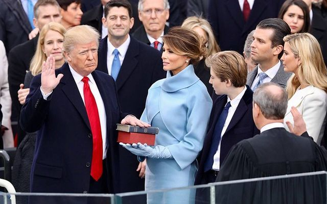 One year ago today, the inauguration of Donald J. Trump as the 45th President of the United States.