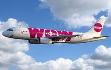 Thumb wow air iceland plane in the sky