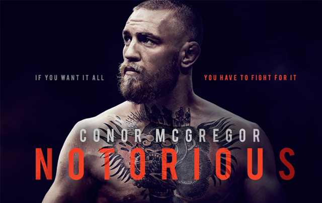 Promo poster for Conor McGregor: Notorious.