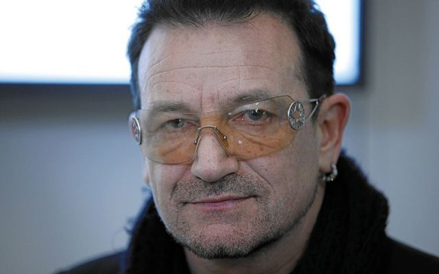 U2\'s front man Bono.